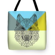 Party Wolf Tote Bag