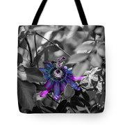 Passion Flower Only Tote Bag