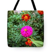 Pastel Wild Flowers Tote Bag