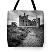 Path To Kilchurn Castle Tote Bag