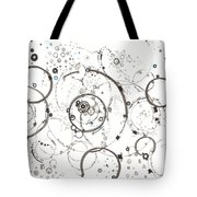 Pathways Through The Multiverse Tote Bag