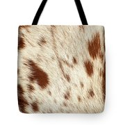 Pattern Of A Longhorn Bull Cowhide. Tote Bag by Rob D Imagery