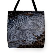 Patterns In Ice Tote Bag