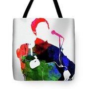 Paul Mccartney Watercolor Tote Bag