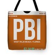 Pbi West Palm Beach Luggage Tag II Tote Bag