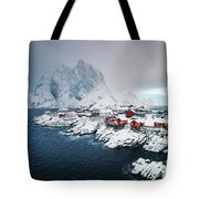 Peace Of Winter Tote Bag