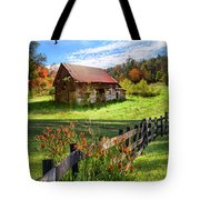 Peaceful Country Morning Tote Bag