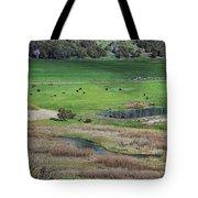 Peaceful Farm In Durango Tote Bag