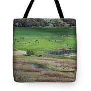 Peaceful Farm Tote Bag