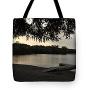 Peaceful Sunset At The Park Tote Bag