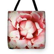 Peach Peony Tote Bag