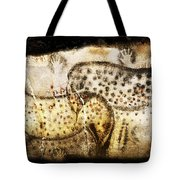Pech Merle Horses And Hands Tote Bag