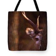 Peeking Tote Bag by Jeff Phillippi