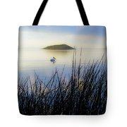 Pelican On Klamath Lake Tote Bag