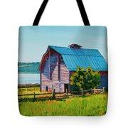 Penn Cove Barn Tote Bag