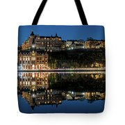 Perfect Sodermalm Blue Hour Reflection Tote Bag