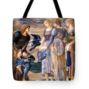 Perseus And The Sea Nymphs 1877 Tote Bag