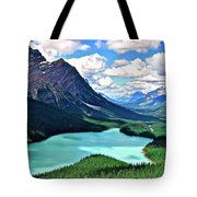 Peyto In August Tote Bag