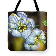 Photinia Spring Tote Bag