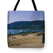 photograph of thid beach which is located in Stanley Park Vancouver. Third beach is a popular location for tourists and locals alike. Tote Bag