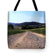Photography Landscape Shot Of A Path Tote Bag