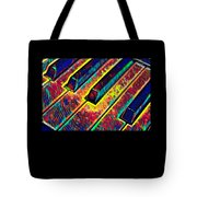 Piano Keys Musican Player Music Notes Gift Color Design Tote Bag
