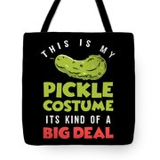 Pickle Costume Funny Apparel Tote Bag