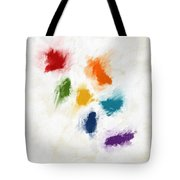 Piece Of The Rainbow- Art By Linda Woods Tote Bag