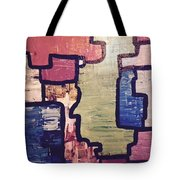 Pieces Of The Puzzle Tote Bag