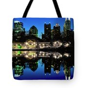 Piedmont During Blue Hour Tote Bag