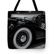 Pierce Arrow Circa. 1937 Tote Bag by Michael Hope