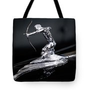 Pierce Arrow Classic Car Emblem Tote Bag by Michael Hope