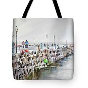 Piers To Be Cold Tote Bag