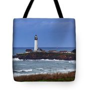 Pigeon Point Light Station In San Mateo County Ca Tote Bag