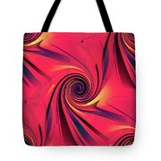 Pinch And Twist   5 Tote Bag
