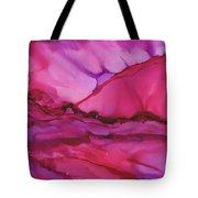 Pink Light Of Dawn Tote Bag