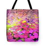 Pink Lily's Tote Bag