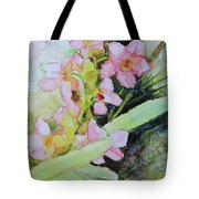 Pink Moth Orchids II Tote Bag