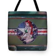 Pinup Girl Tote Bag by Tony Baca