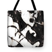 Pipe After Mikhail Larionov Black Oil Painting 4 Tote Bag