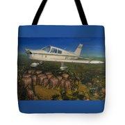 Piper Cherokee -140 Tote Bag