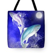 Pisces Tote Bag by Mark Taylor