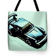 Pixel Porsche Tote Bag