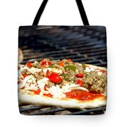 Pizza On The Grill Tote Bag
