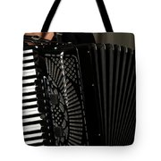 Play The Accordion Tote Bag