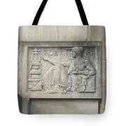 Poetry Plaque Tote Bag