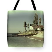 Point Betsie Lighthouse 2 Tote Bag
