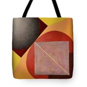 Point Line And Plane Tote Bag
