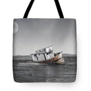 Point Reyes California Shipwreck Tote Bag