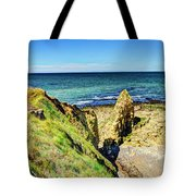 Pointe Du Hoc Panorama Tote Bag